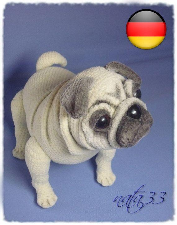 Pug dog #fabrictape