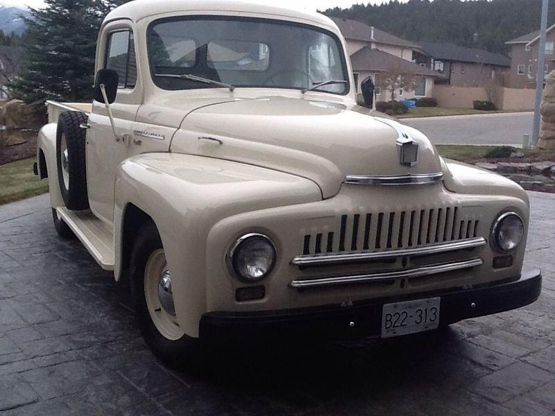 Kijiji: 1951 International Harvester L100 Pickup Truck - AFTER | My ...