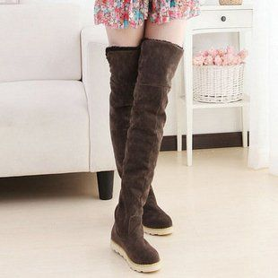 2013 Winter over the knee snow boots for women   www.aliexpress
