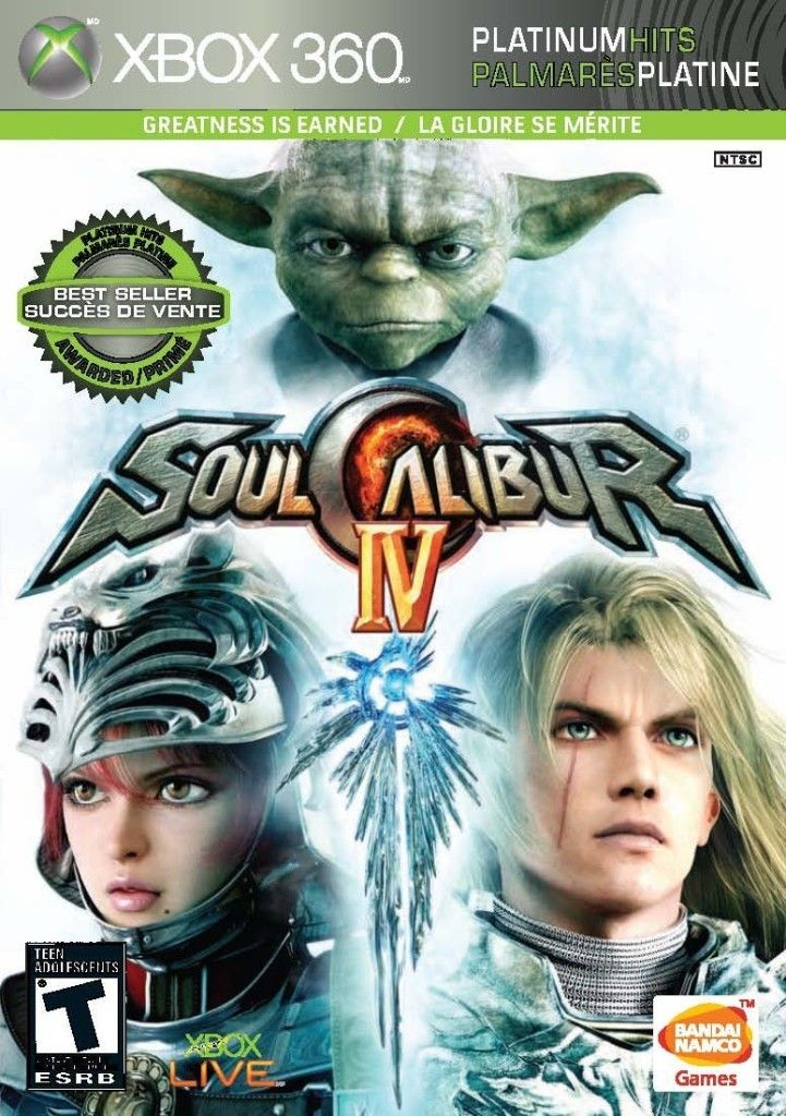 Fighting Games For Xbox 360 : Soul calibur iv xbox fighting games of all time