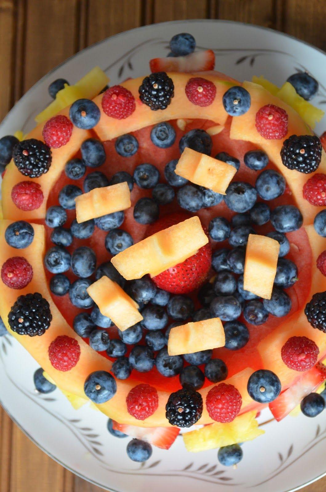 The Savvy Kitchen Raw Fruit Cake Fresh fruit cake