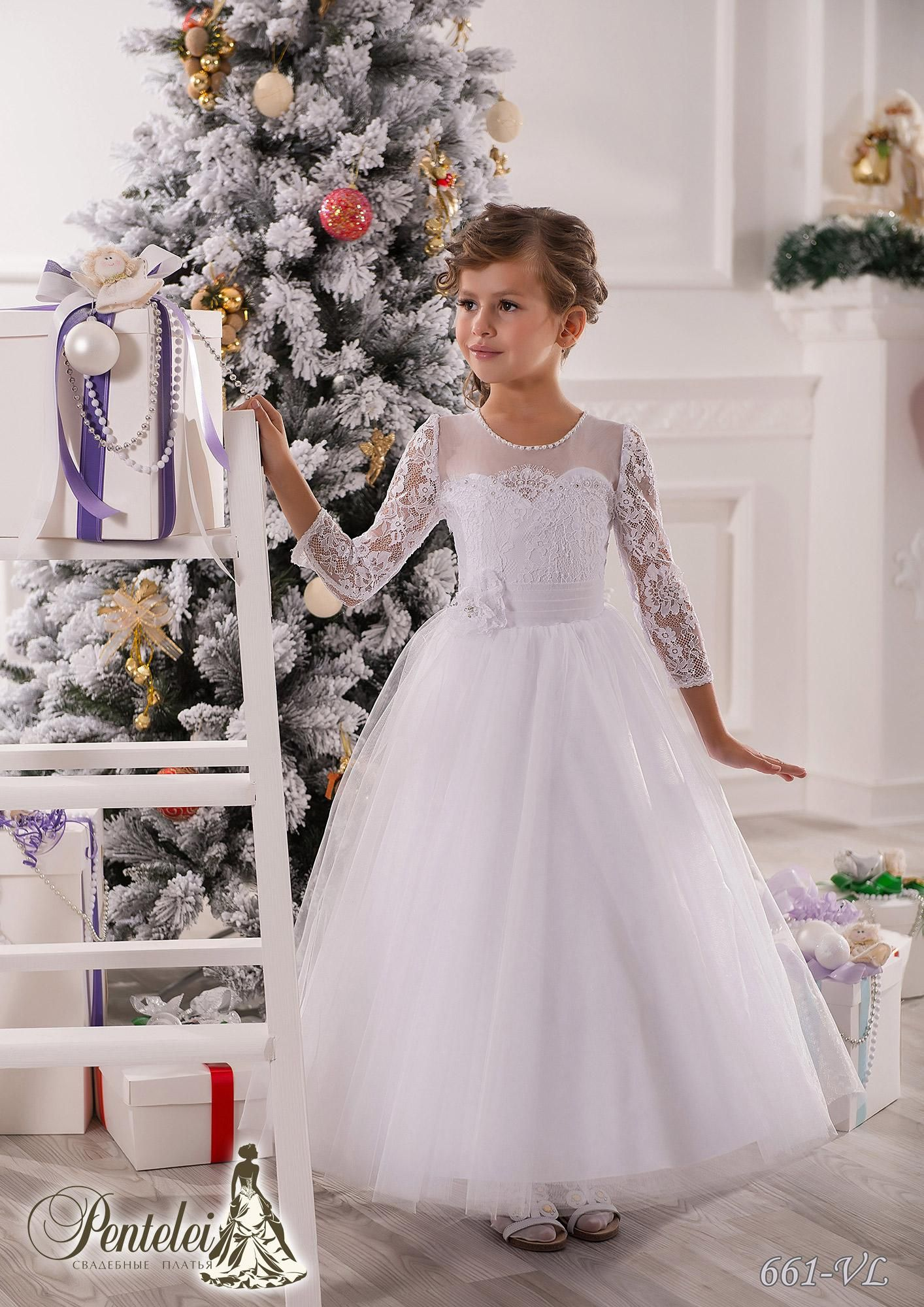 Jewel 3 4 Sleeves Beaded Lace Net Baby Girl Birthday Party Christmas Princess Dresses Children Girl Party Dresses Flower Girl Dresses From Weddingmall 47 91 Flower Girl Dresses Tulle Wedding Dresses For [ 2000 x 1414 Pixel ]
