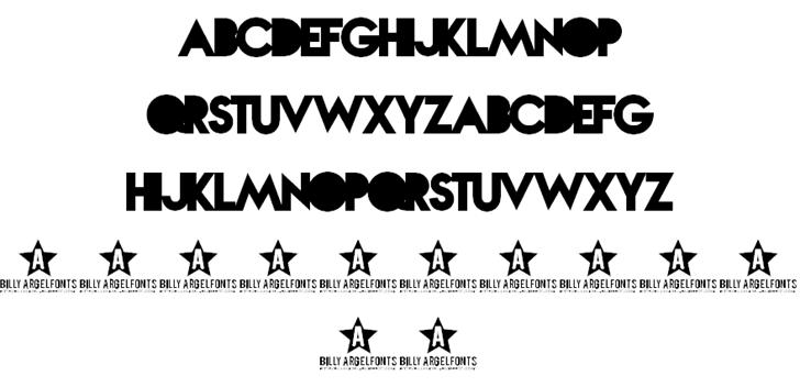 Nova SOLID font by Billy Argel - FontSpace