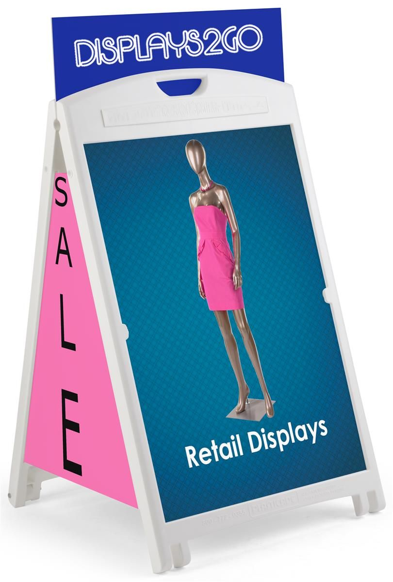 24 X 36 Sidewalk Sign Frame W Uv Print
