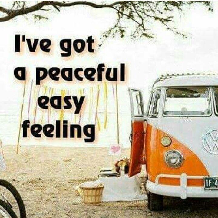 I've got a peaceful easy feeling Eagles Lyrics, Song Lyrics, Lyric Art