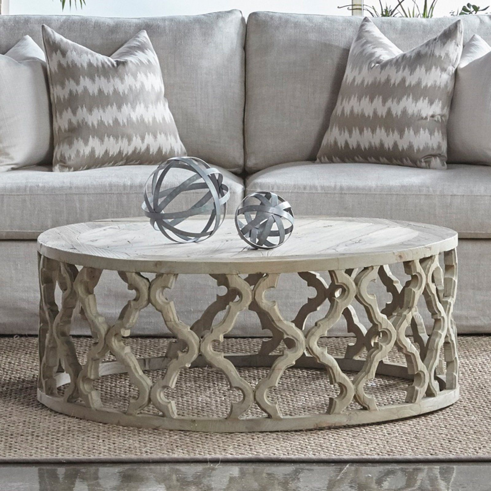 Orient Express Furniture Clover Coffee Table Coffee Table Large Coffee Tables Living Room Design Decor [ 1600 x 1600 Pixel ]