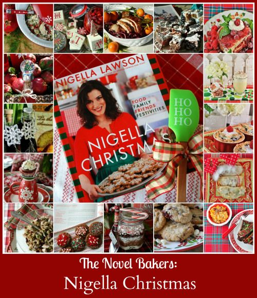 Novel Bakers share Nigella Christmas~ from cocktails, stress-free suppers, edible gifts and desserts. http://homeiswheretheboatis.net/ #christmasrecipes #foodgifts