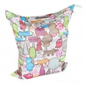 Alva Flower Printed Baby Wet And Dry Cloth Diaper Bags