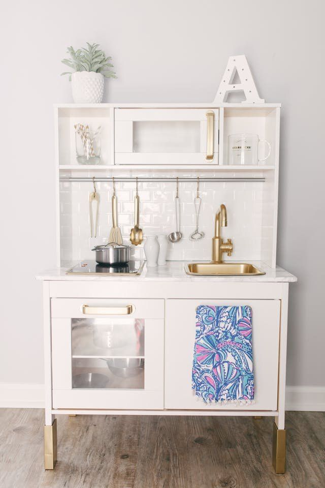 15 incredible pint size hacks of ikea 39 s popular play kitchen. Black Bedroom Furniture Sets. Home Design Ideas