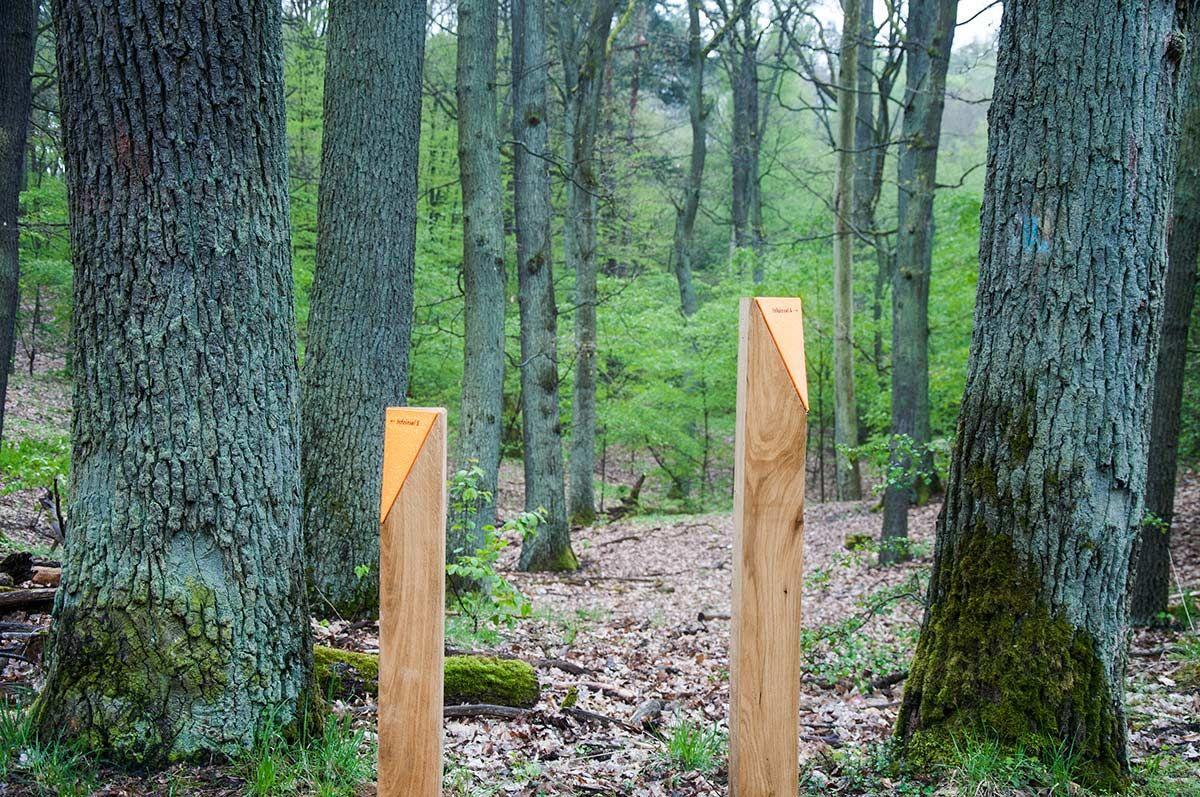 15 Wbk Foto Gewerkdesign Landscape Architecture Works Landezine Signage Landscape Forest Landscape Signage Design