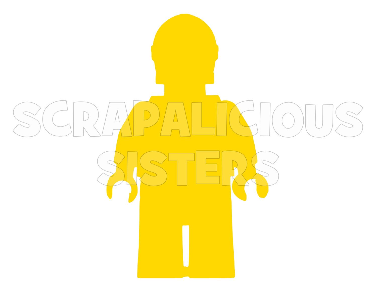 Lego Inspired 4 Quot Lego Inspired Personalized C3po Iron On Vinyl Decal For