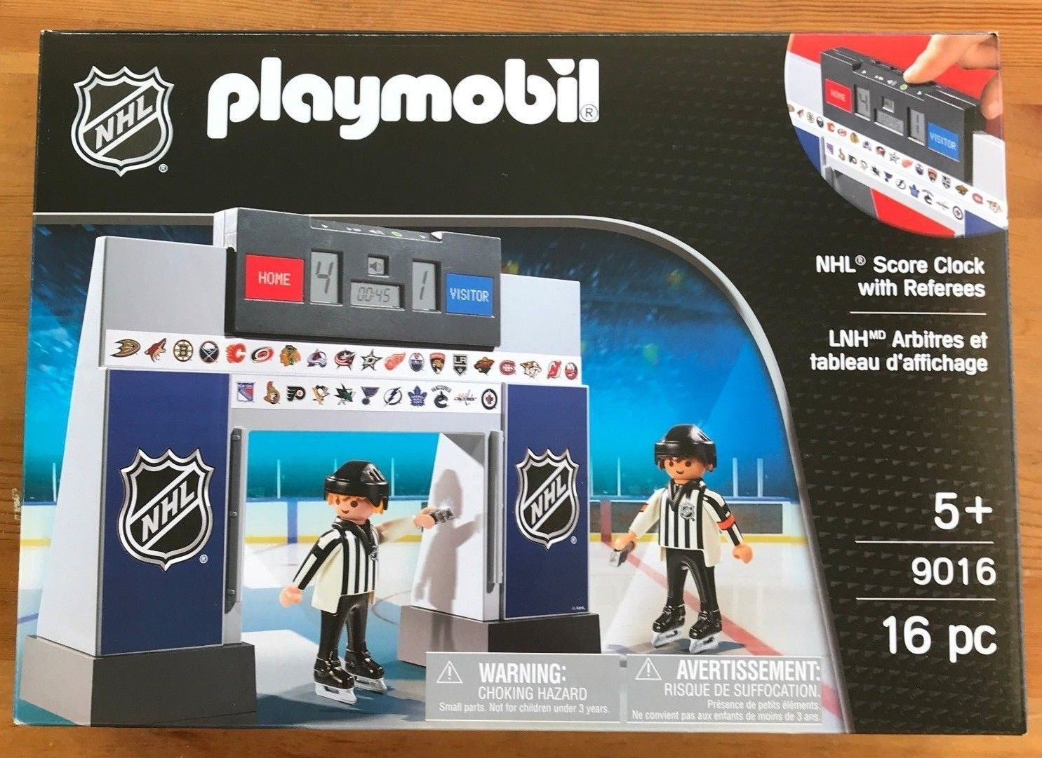 Playmobil Nhl Score Clock With Referees Kids Toys And Pretend Play Playmobil Nhl Hockey Kids Party