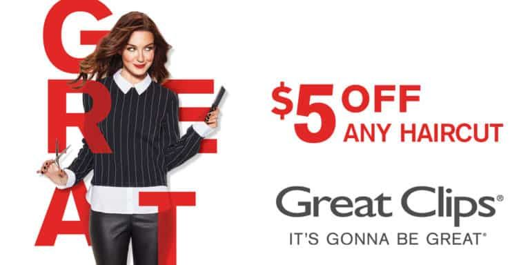5 Off Great Clips Coupon Haircut Coupons Great Clips Coupons Great Clips Haircut