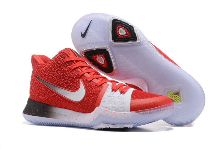 Beautiful Nike Kyrie Irving 3 EP III Team Red White Men\u0027s Athletic Sport  Basketball Shoes sold by Magenta Boutik. Shop more products from Magenta  Boutik on ...