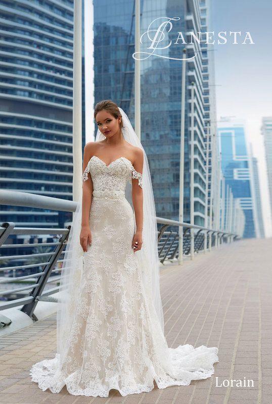 Wedding dress Lorain by Lanesta collection2018 | wedding dress ...