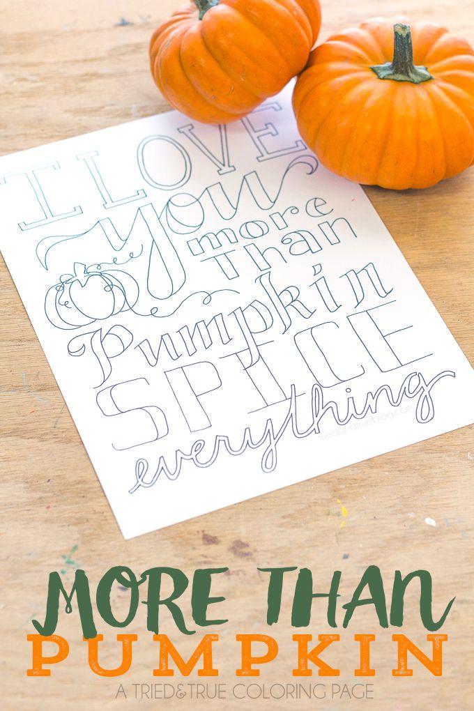More Than Pumpkin\