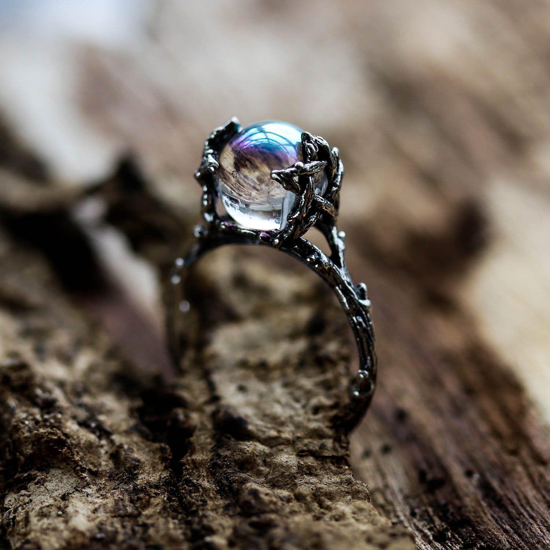 Willow Double Quartz Gypsy Ring