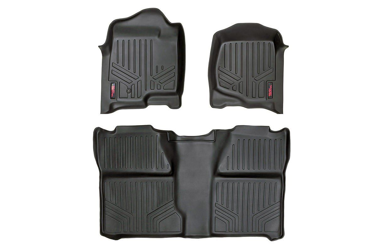 Gm Heavy Duty Floor Mats Front Rear 07 13 Silverado Sierra