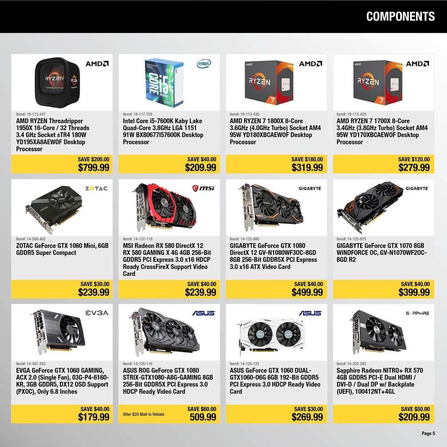 Newegg Black Friday 2017 Ads And Deals Get All Of The Details On Newegg Black Friday Right Here Plus See The Official Newegg Black Friday Ad To See What The H