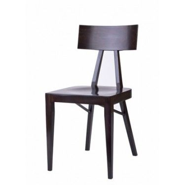 LOULOU Wooden Chair From Beaufurn. Comes In A Stool Version As Well.