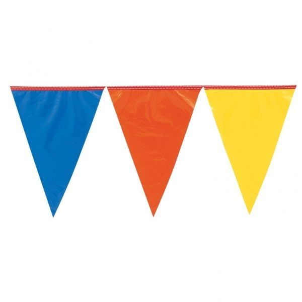 BOYS 11th BIRTHDAY PARTY BANNER MULTI COLOUR BUNTING