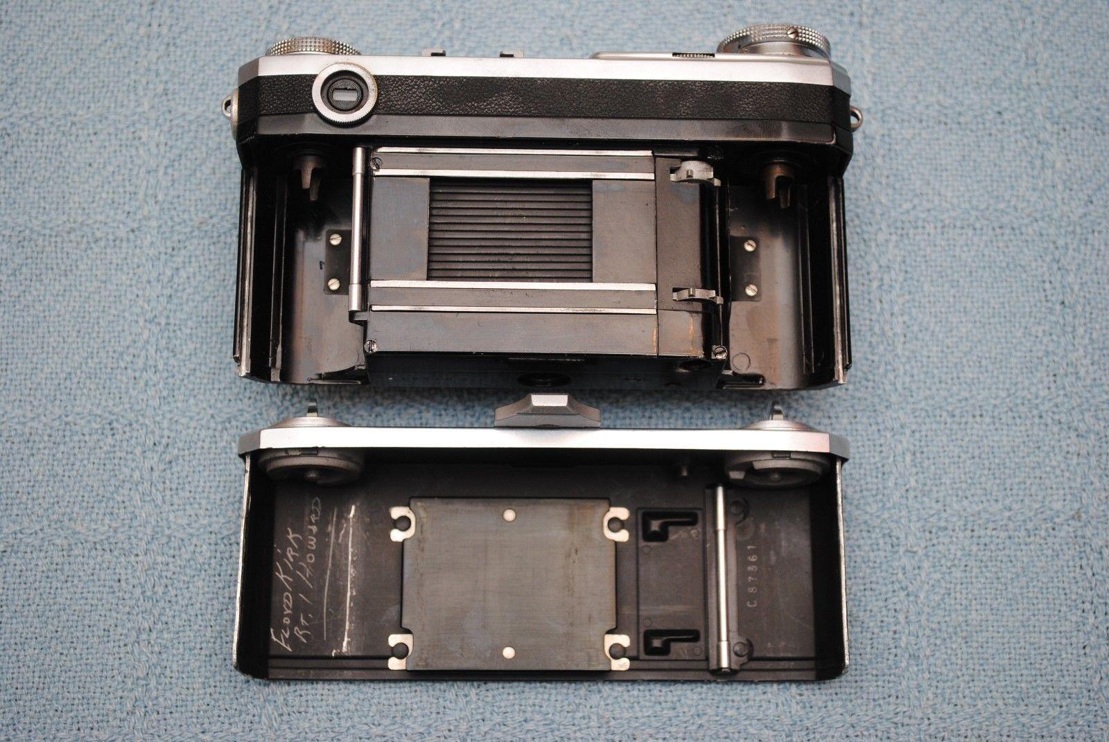 Original 1936 37 Zeiss Ikon Contax II 35mm Camera | eBay