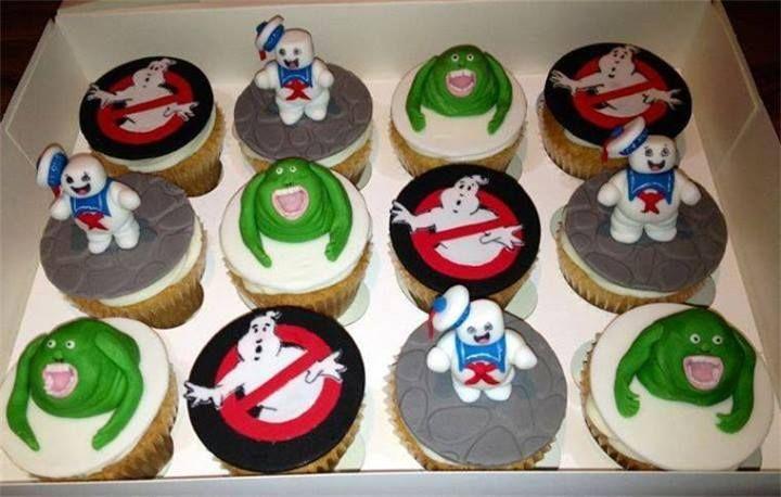 Cupcakes de Cazafantasmas