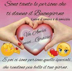 Cuore D Amore E D Amicizia Con Frasi Di Buongiorno Romantiche Frasi
