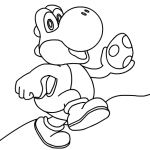 Yoshi Coloring Pages Yoshi Coloring Pages Free Yoshi Coloring