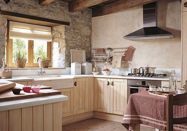 cocinas integrales pequeñas sin gabinetes arriba - Buscar con Google ...
