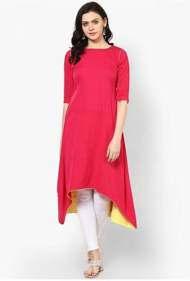 e213f96c20 Styles Closet Designer Plain Pink Colour Cotton Kurti - Styles Closet  Kurtas & kurtis for women | buy women kurtas and kurtis online in indium