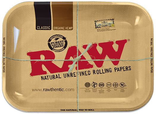 Raw Classic Rolling Tray In 2021 Rolls Tray Raw