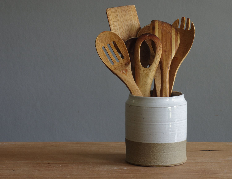 large ceramic kitchen utensil holder google search clay glaze rh pinterest com white ceramic kitchen utensil holder vintage ceramic kitchen utensil holder