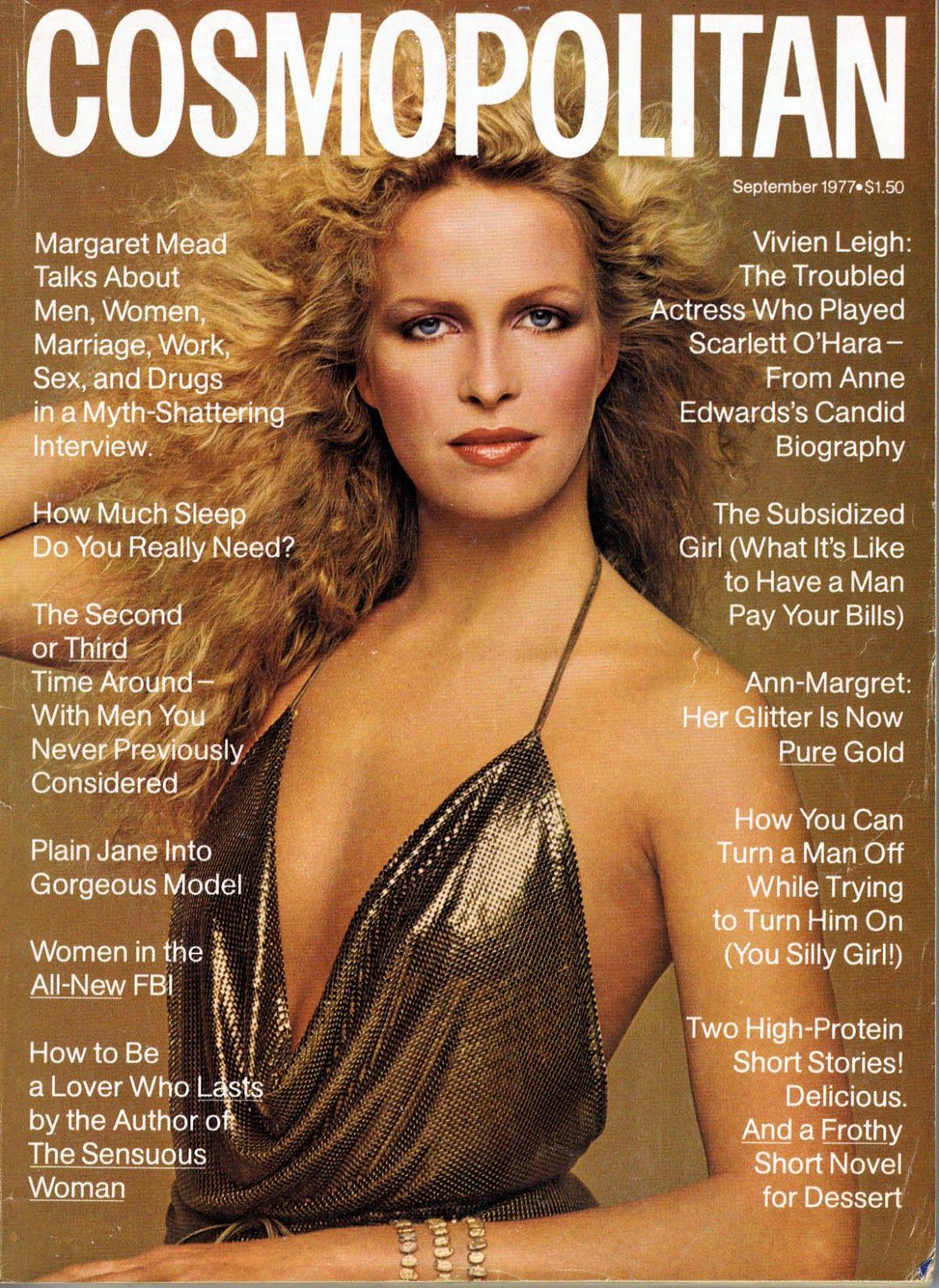Cosmopolitan magazine, SEPTEMBER 1977 Model: Valentine Monnier Photographer: Francesco Scavullo