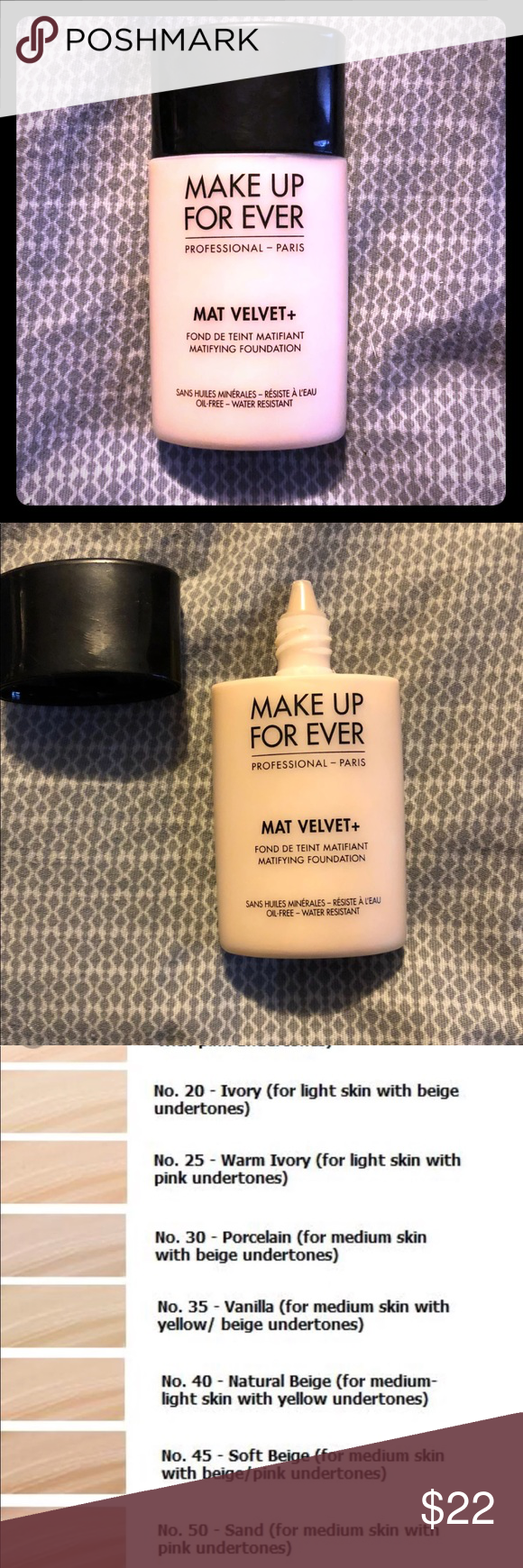MakeUp Forever Mat Velvet Foundation Sephora Makeup