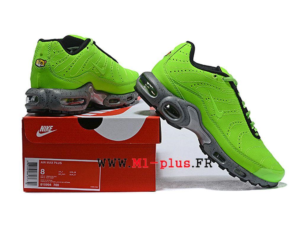 magasin en ligne 2ca3d 9b9a7 Nike Air Max Plus TN 2019 Premium Chaussures de basket Homme ...
