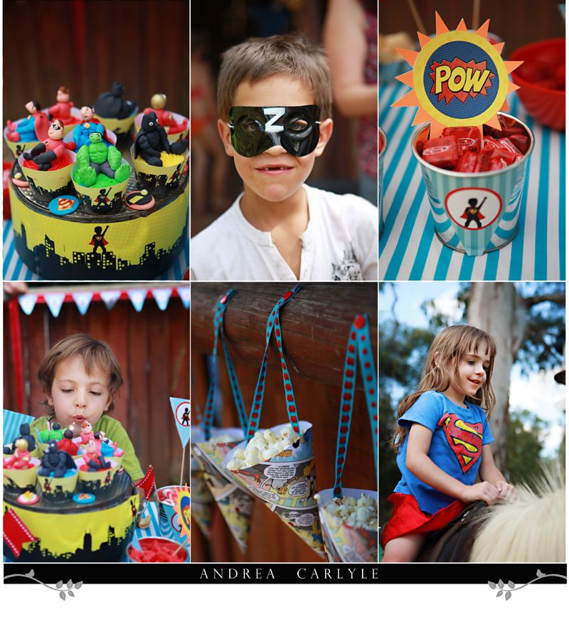 Superhero Party for Kids