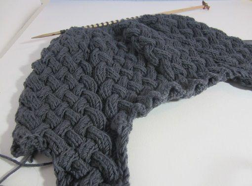 Comment faire une torsades tresse tricot crochet co pinterest comment - Faire une boutonniere au tricot ...