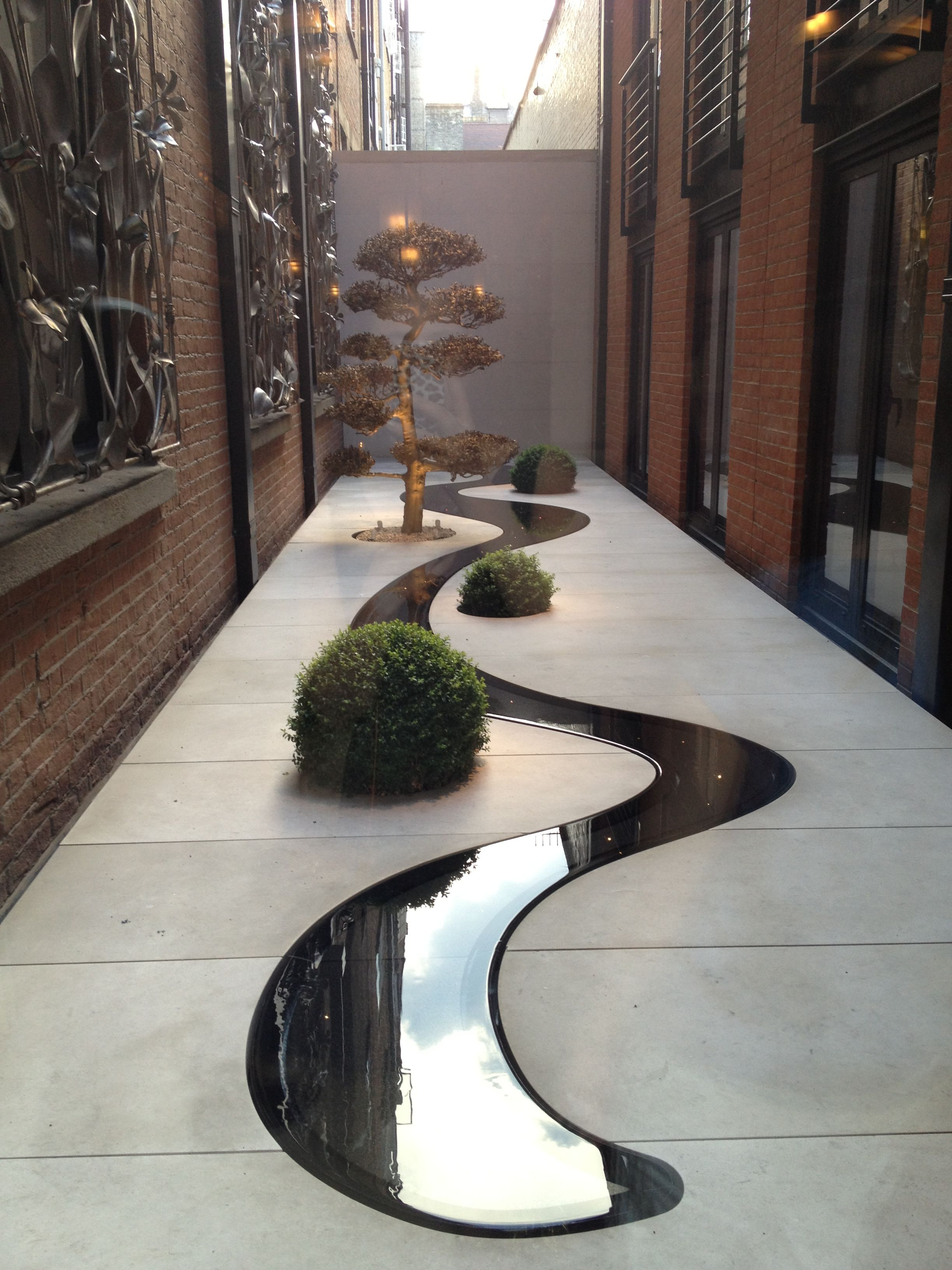 Zen Garden.in the middle of Mayfair. Is this a new