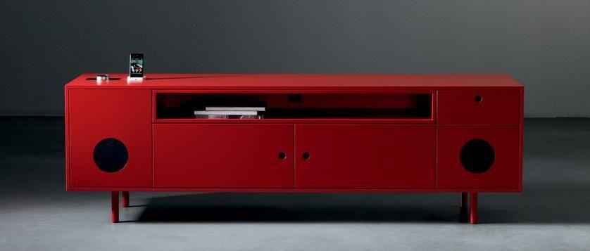 Mueble de sonido ideas para el hogar muebles hogar y for Muebles de diseno industrial