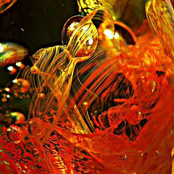 Glass Abstract 623      by S Loft