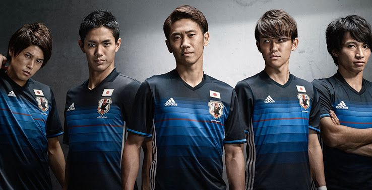 Japan 2016 Home Kit Released - Footy Headlines  7ea07fbf2