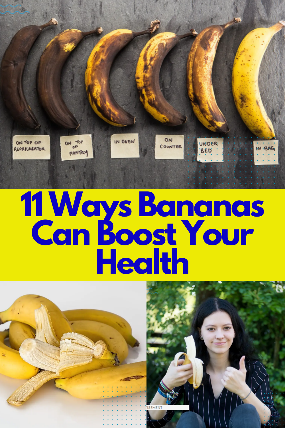 11 Ways Bananas Can Boost Your Health in 11  Beauty health
