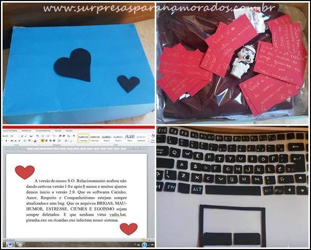 Presente Nerd Notebook Fake Para O Namorado Com Imagens Nerd