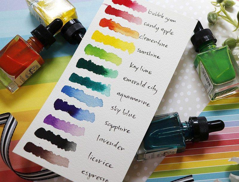 Pinkfresh Studio Liquid Watercolor Blog Hop Watercolor Blog