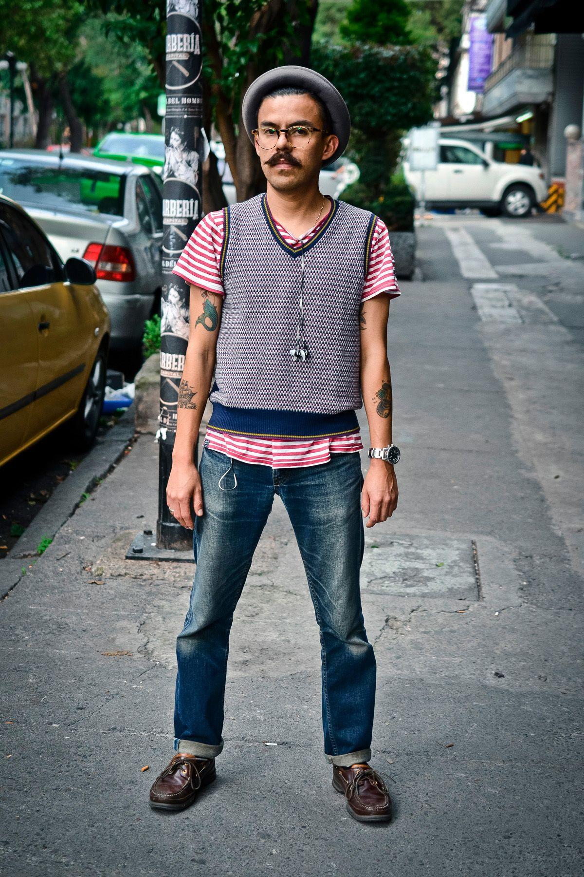 Hipster guy.   Streetsyle en México   Pinterest   Hipster ...