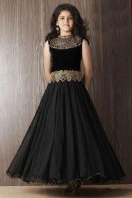2328a84e3bd8 Net and Silk Party Wear Gown in Pink Colour