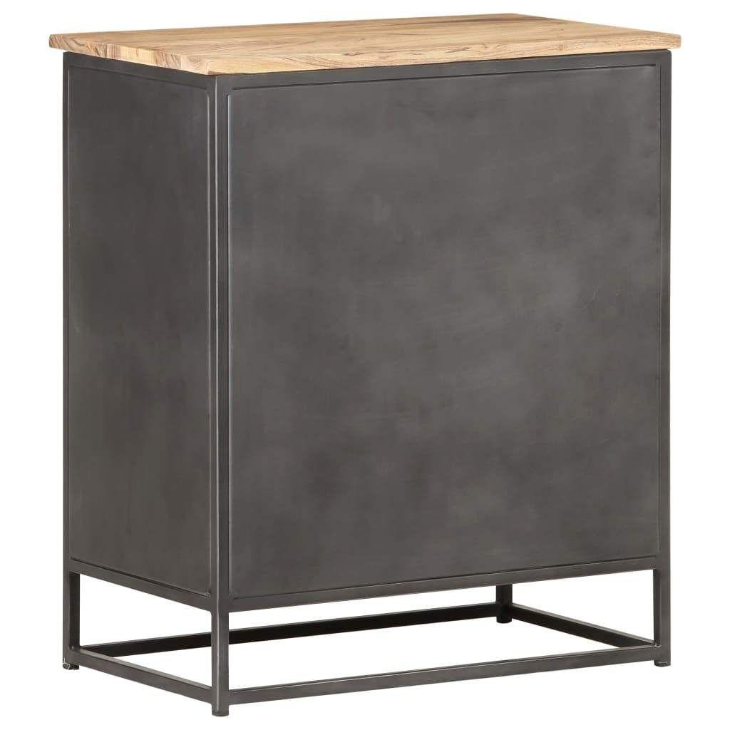 ZNTS Sideboard 60x35x70 cm Solid Acacia Wood 323528