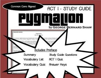 literary analysis of the play pygmalion by george bernard shaw Pygmalion definition a literary and historical atlas of asia j g bartholomew a play by george bernard shaw, about a professor.