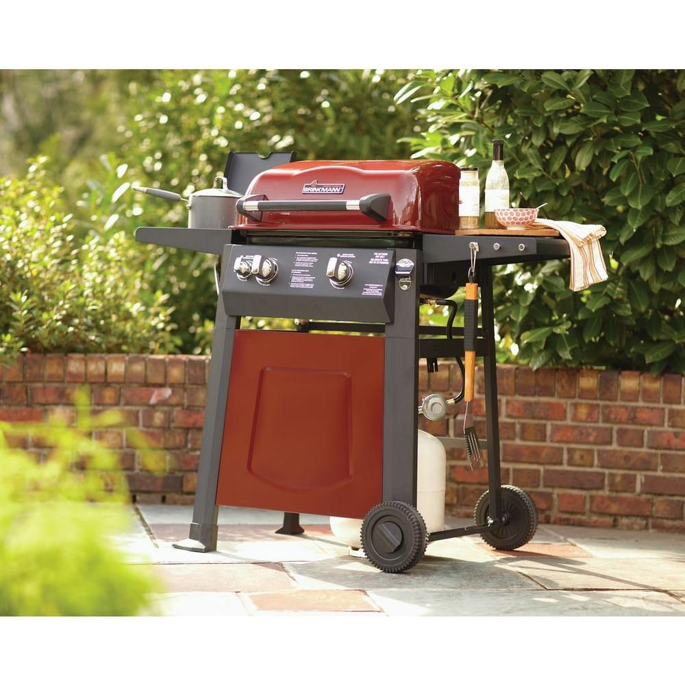 excellent grill for a small patio it looks pretty swell too